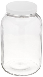 Fermentation-Glass-Jar-Pickling-USDA-Certified-Food-Grade-Plastic-Lid-1-Gallon