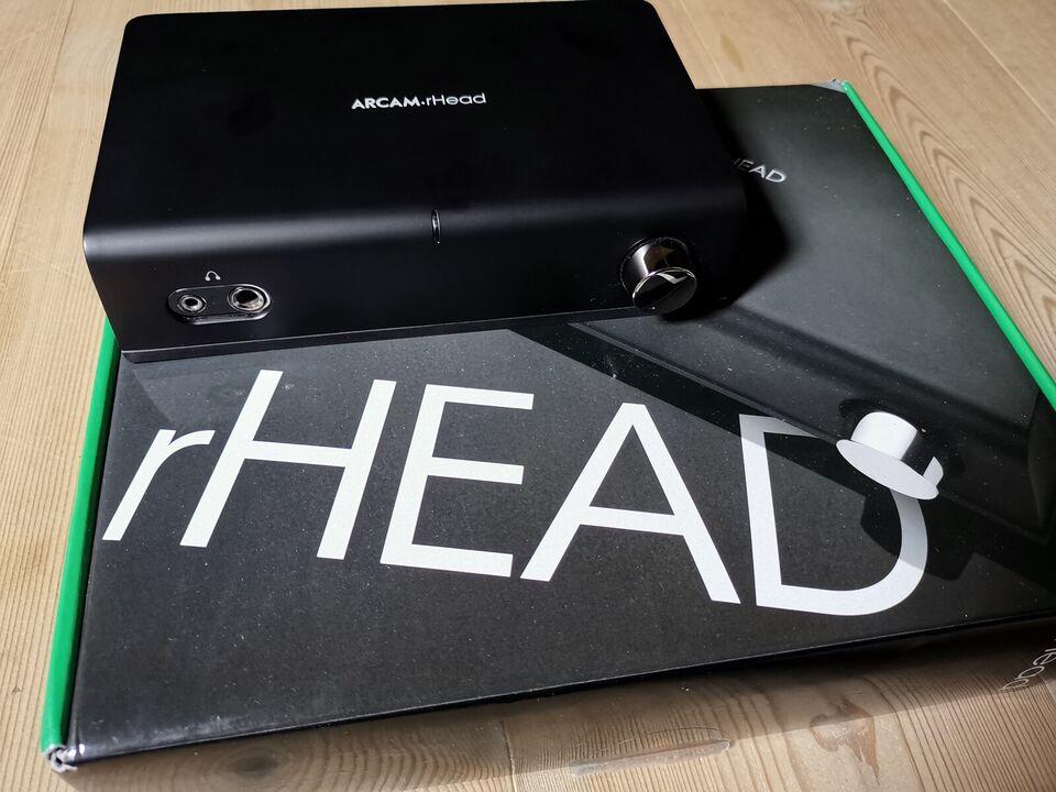 Hovedtelefonforstærker, Arcam, rHead