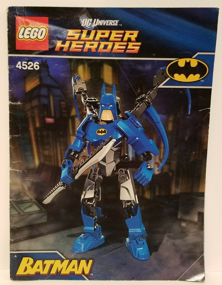 100% abgeschlossen und im ruhestand lego batman batman batman (4526) mit anweisungen 61fb8a