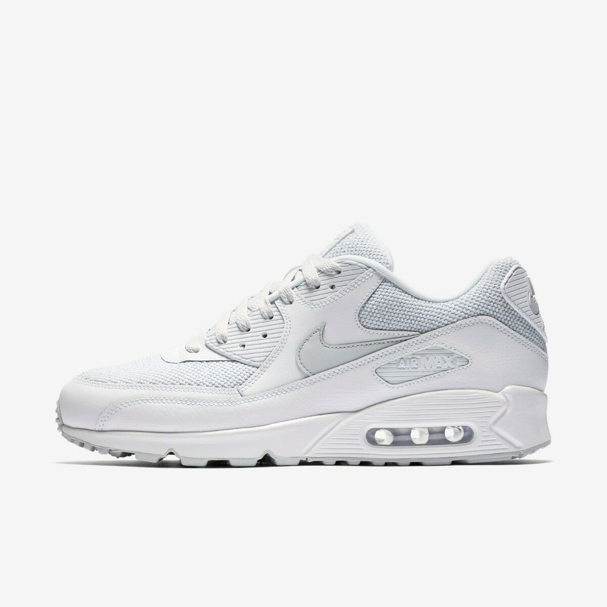 NIKE AIR MAX 90 MENS RUNNING TRAINER SHOE SIZE 6 6 6 7 7.5 WHITE 11a73b