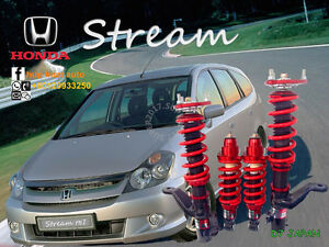 HONDA-STREAM-RN1-D7-JAPAN-ADJUSTABLE-COILOVER-HIGH-LOW-BODY-SHIFT