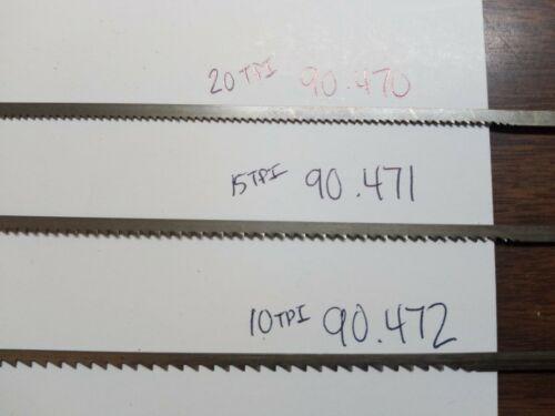 "Peagus//Grobet 6/"" Regular Long Scroll Saw Blades 1 DZN Made in Switzerland 90.471"
