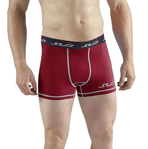 Sub Sports Uomo Dual Compressione Shorts Biancheria Funzione Base Layer Boxershorts