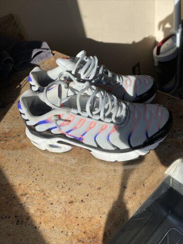 Nike Air Max Plus TN GS Running Shoe Platinum Viol