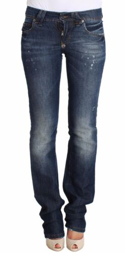 N Jeans W26 Galliano Lenin Boot Blue 420 John A It40 Denim Wash Cotton Flare tIarqI7wx