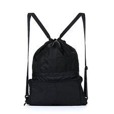 Chnano Drawstring Bag, Nylon Foldable Waterproof Sackpack Backpack for Men Women