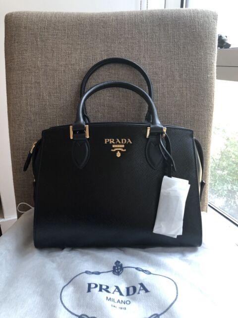 Auth Luxury Prada Saffiano Bag Handbag