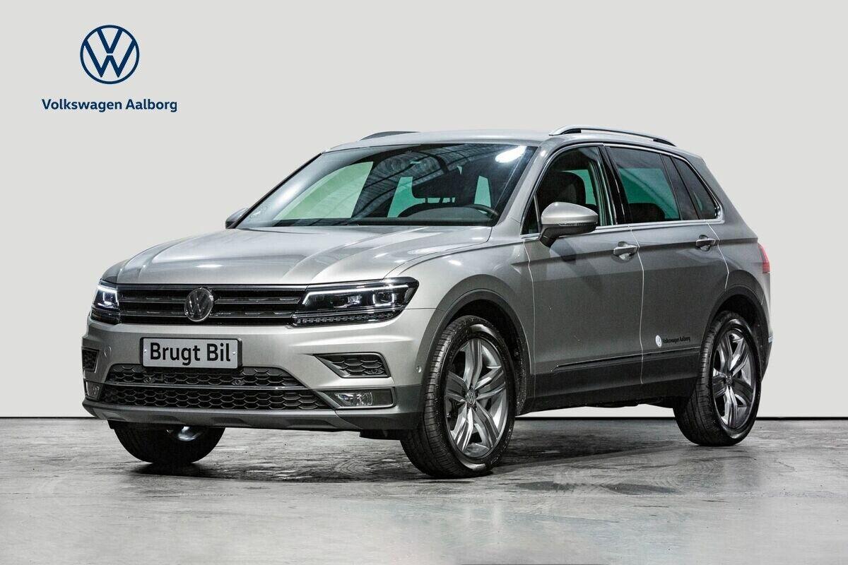 VW Tiguan 2,0 TDi 150 Highline DSG 5d - 554.000 kr.