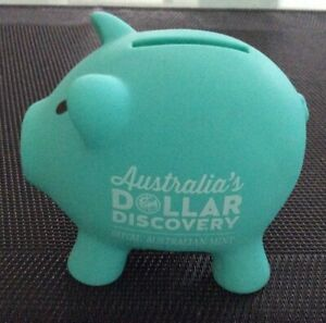 Dollar Discovery Piggy Bank Money Box