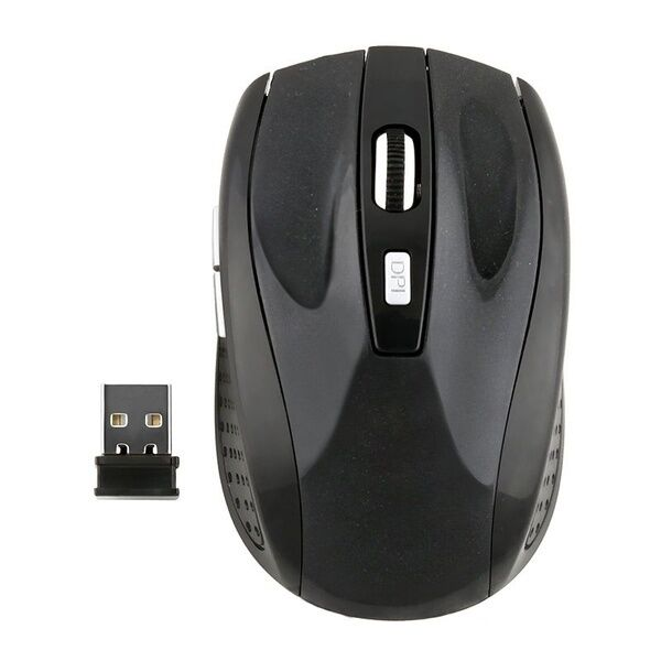 1x USB 2.4GHz Wireless Cordless Mouse Mice Optical Scroll For Laptop PC Computer