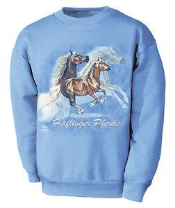 Designer Sweatshirt M mit Pferdemotiv Tinker Collection Boetzel 09096