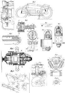 Nimbus Motorrad - Technik Kompendium auf 143 Seiten