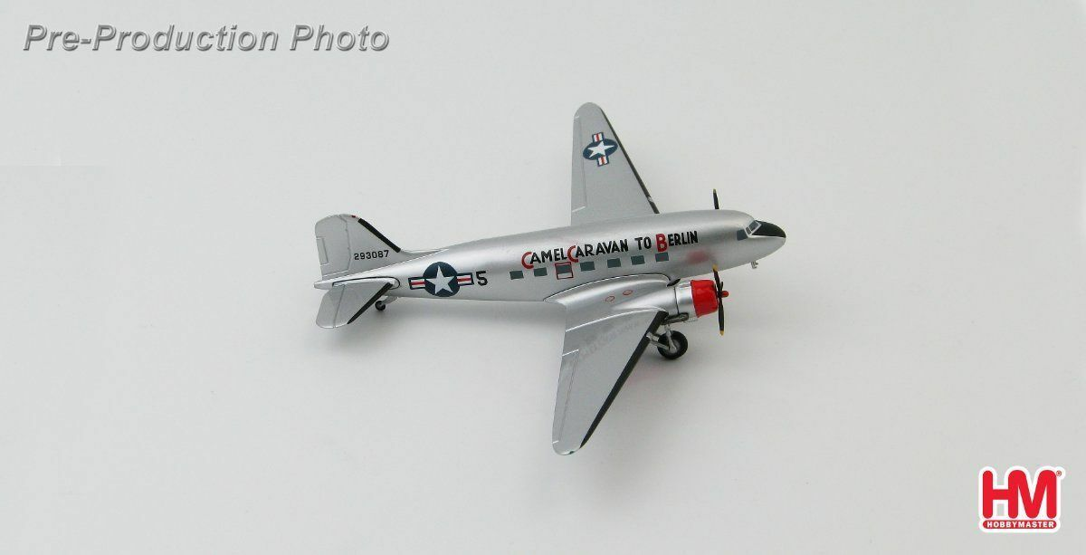 Hobby Master 1 200 C-47A 'Camel Caravan to Berlin' 86th