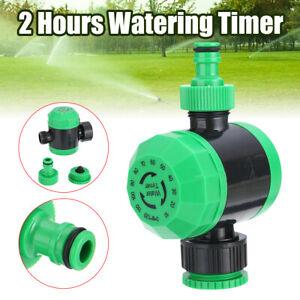 Garten Manuelle Bewasserungsuhr Wasserzeitschaltuhr Bewasserung Wasseruhr 2 Hour Ebay