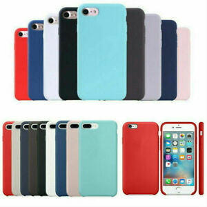 Silicone Case for Apple iPhone 6/6s 7/8 Plus X Xs XR Xs Max Shockproof Cover