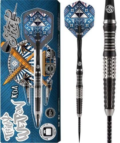 Shot Tribal Weapon Koa 90/% Tungsten Steeldart 22//23//24//25//26g