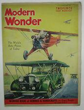 Modern Wonder Magazine Vol 2 no 38 February 5, 1938 The Story of Steam