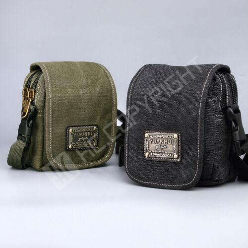 Durable Multifunction Canvas Shoulder Messenger Tote Satchel Bag for Men Women