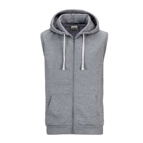 New Awdis Sleeveless Zoodie Mens Full Zip Hoodie Jumper Gym Workout Sweatshirts
