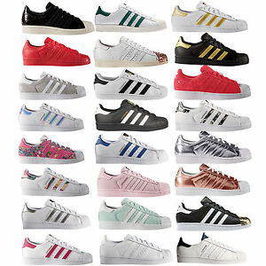 Adidas-Originals-Superstar-Enfants-Femmes-Sneaker-Baskets-Basses-Chaussures