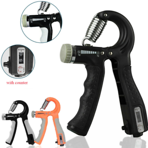 Adjustable Hand Grip Strength Power Trainer Gripper Strengthener Gym Exerciser