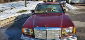 Vintage Mercedes 300SD 1982 - Priced to sell