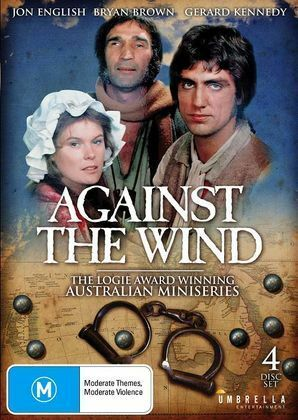 Against The Wind Australian  Miniseries - Jon English, Bryan Brown 4 Disc Set