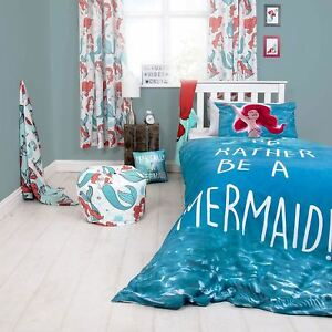 DISNEY-PRINCESS-SHELLFIE-ARIEL-LITTLE-MERMAID-SINGLE-DUVET-COVER-SET-GIRLS