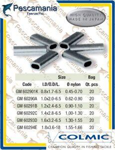 Tubetti-Colmic-ovali-in-alluminio-per-fissaggio-terminali