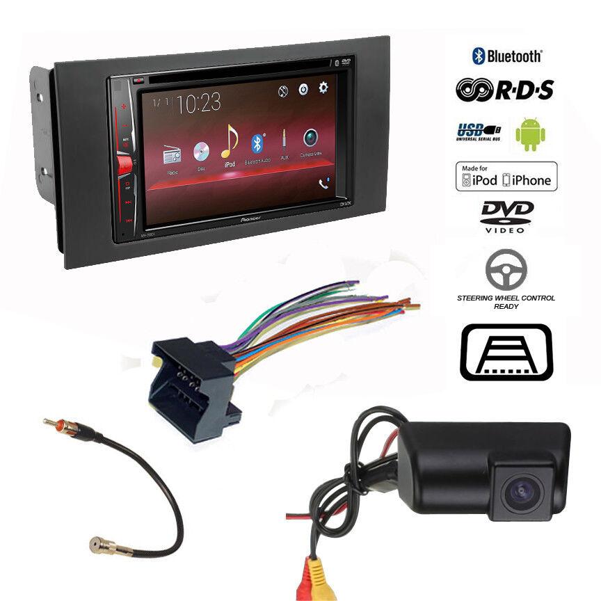 Pioneer Double DIN USB Radio+Backup Camera+Ford Transit
