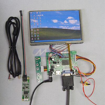 "7"" Inch N070ICG-LD4 1280*800 LCD Panel + HDMI+VGA+2AV Driver Board +Touch Screen"