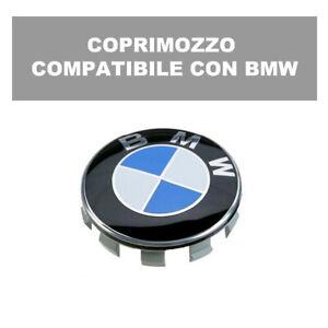 COMPATIBILE CON AUDI 1 PZ Coprimozzo Copricerchi tappi COPPE CALOTTA 60 mm tb