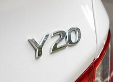 Y20 Rear Emblem OEM Parts For Hyundai Sonata 2011 2014