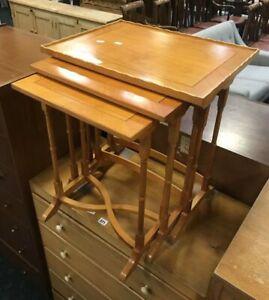 Vintage-Retro-Yew-Nest-of-3-Tables-5793