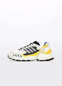 adidas Torsion TRDC Herren Sneaker Turnschuhe Schuhe Beige Gelb NEU FW9170