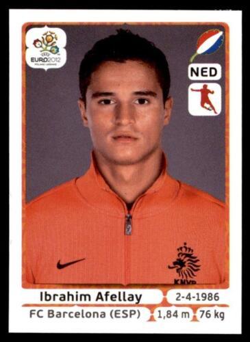 184 Panini Euro 2012 Ibrahim Afellay Holland No