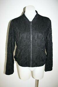 BARBARA-LEBEK-black-lace-jacket-size-S-8-10-199-NEW