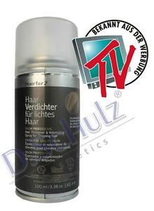 Hairfor2 Haarverdichter Haaraufüller Cover 100ml  Haarverdichtung Sprühhaar