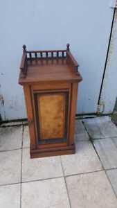 Edwardian-Mahogany-amp-Walnut-034-Mackenzie-amp-Co-034-Bedside-Cabinet