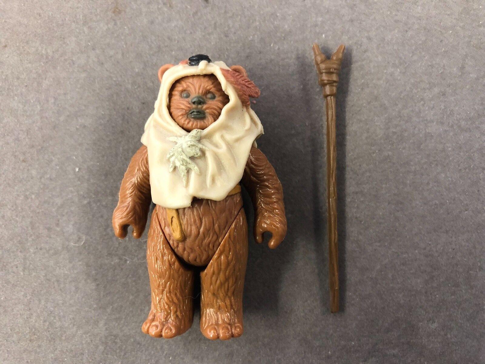 Star Wars Vintage Original Weapon 1984 Ewok Paploo 100% Complete Last 17 No COO