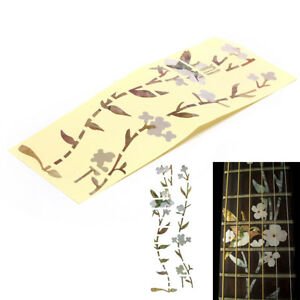 Flower-Bass-Sticker-Fretboard-Marker-DIY-Decal-for-Acoustic-Electric-Guitar-T-D