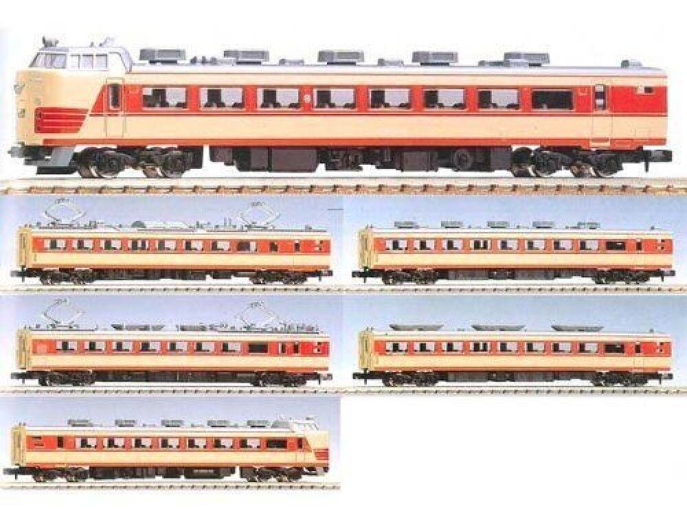 N gauge vehicle 183-485 system limited express train North Kinki set 92708 F S