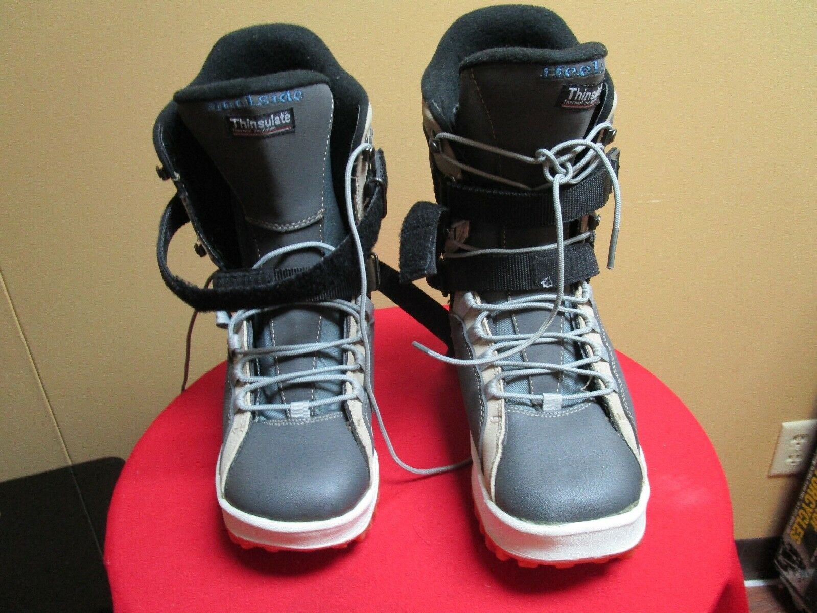 Heelside Explorer Boots Size 10