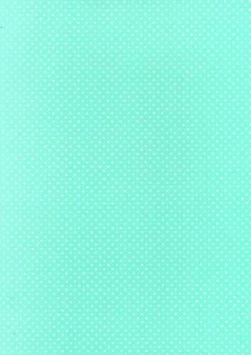 8 A4 Hojas De Lunares Tarjeta-Aqua con punto blanco 260gsm Nuevo