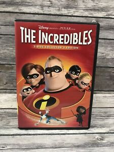 Los-Increibles-2-Discos-Collector-039-s-Edition-DVD-de-pantalla-ancha-Disney-Pixar-Superheroe