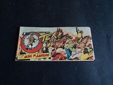 TEX STRISCIA SERIE ROSSA N.24 ORIGINALE 1954 AUDACE BELLISSIMA !!!!TIPO ZAGOR