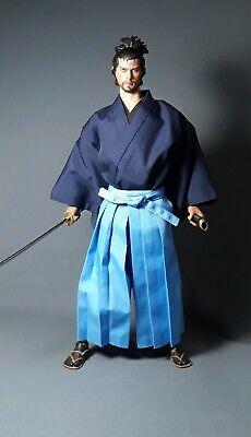 hakama #63,scale is 1//6 kimono kosode waraji for a 12 inch samurai figure