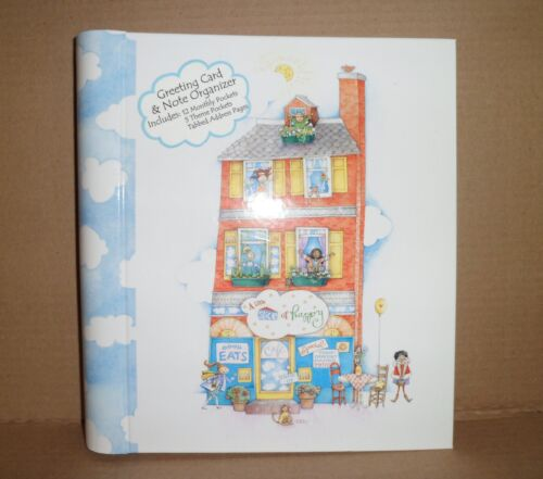 Note /& Address Organizer Album Christmas Gift Blank Greeting Card