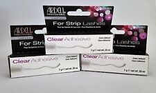 Ardell LashGrip Strip Adhesive - Clear- 0.25 oz | Pack of 3