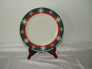 CIC Certified International Corp.~Holiday/Winter Dinner Plate with ...
